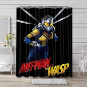 Wasp Shower Curtain Waterproof Polyester