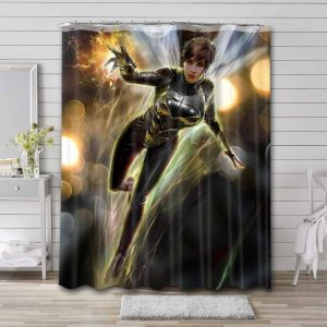 Wasp Marvel Shower Curtain Waterproof Polyester