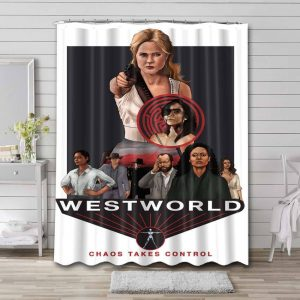 Westworld Show Shower Curtain Waterproof Polyester Fabric