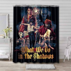 What We Do in the Shadows Shower Curtain