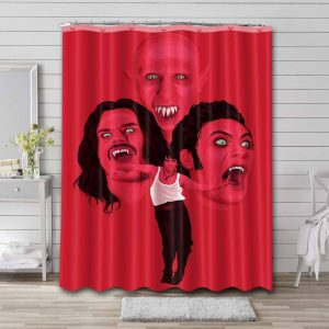 What We Do in the Shadows Shower Curtain Waterproof Polyester Fabric