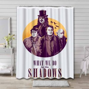What We Do in the Shadows Bathroom Shower Curtain Waterproof