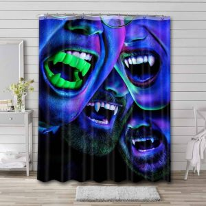 What We Do in the Shadows Waterproof Bathroom Shower Curtain