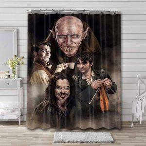 What We Do in the Shadows Characters Waterproof Curtain Bathroom Shower