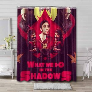 What We Do in the Shadows Characters Shower Curtain Bathroom Decoration