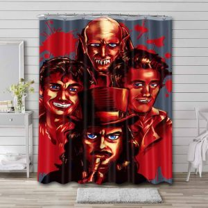 What We Do in the Shadows Series Waterproof Shower Curtain Bathroom Decor