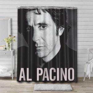 Al Pacino Actor Shower Curtain Waterproof Polyester Fabric