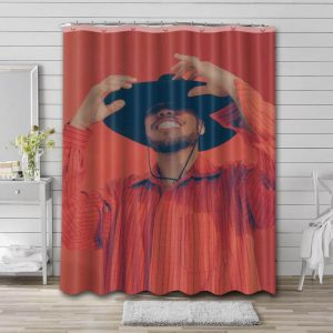 Anderson .Paak Shower Curtain Bathroom Decoration Waterproof Polyester Fabric.