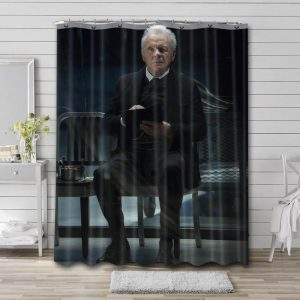 Anthony Hopkins Bathroom Shower Curtain Waterproof Polyester