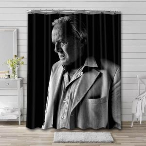 Anthony Hopkins Shower Curtain Waterproof Polyester Fabric