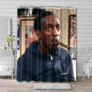 Bill Cosby Shower Curtain Waterproof Polyester Fabric