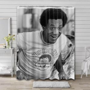 Bill Cosby Actor Bathroom Shower Curtain Waterproof Polyester