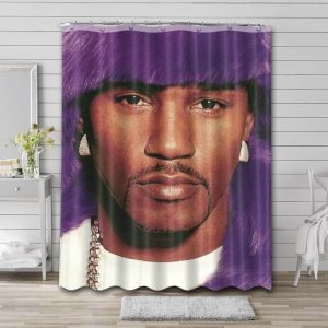 Cam'ron Shower Curtain Waterproof Polyester Fabric