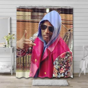 Cam'ron Photo Shower Curtain Waterproof Polyester Fabric