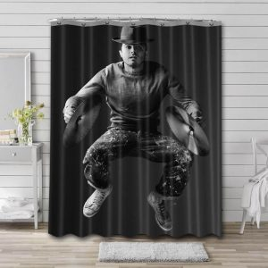 Casey Affleck Movies Shower Curtain Waterproof Polyester Fabric