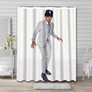 Chance the Rapper Bathroom Shower Curtain Waterproof Polyester