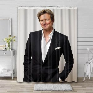 Colin Firth Shower Curtain Waterproof Polyester Fabric