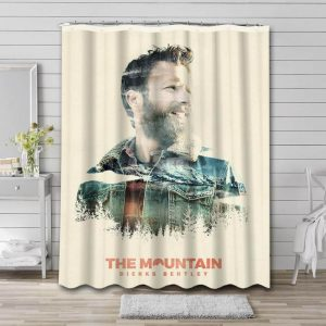 Dierks Bentley The Mountain Shower Curtain Waterproof Polyester Fabric