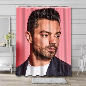 Dominic Cooper Movies Bathroom Shower Curtain Waterproof Polyester