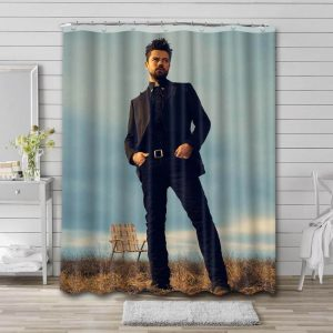 Dominic Cooper Photo Shower Curtain Waterproof Polyester Fabric