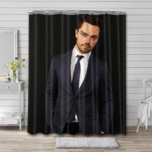 Dominic Cooper Shower Curtain Bathroom Decoration Waterproof Polyester Fabric.