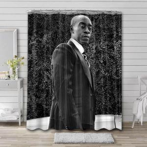 Don Cheadle Movies Shower Curtain Waterproof Polyester Fabric