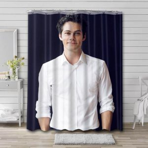 Dylan O'Brien Actor Shower Curtain Waterproof Polyester Fabric