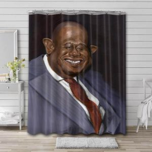 Forest Whitaker Actor Shower Curtain Bathroom Decoration