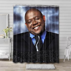 Forest Whitaker Actor Shower Curtain Waterproof Polyester Fabric