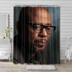 Forest Whitaker Movies Bathroom Shower Curtain Waterproof Polyester