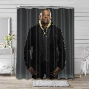 Forest Whitaker Movies Waterproof Shower Curtain Bathroom Decor