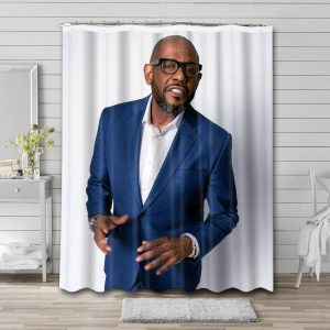 Forest Whitaker Movies Waterproof Bathroom Shower Curtain