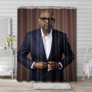 Forest Whitaker Movies Bathroom Curtain Shower Waterproof Fabric