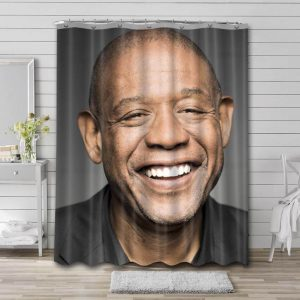 Forest Whitaker Bathroom Shower Curtain Waterproof Polyester