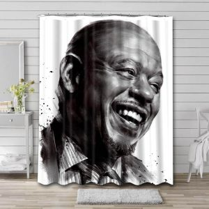 Forest Whitaker Shower Curtain Bathroom Decoration Waterproof Polyester Fabric.