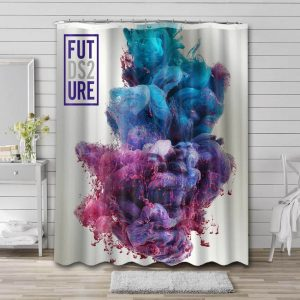 Future Dirty Sprite Shower Curtain Waterproof Polyester Fabric