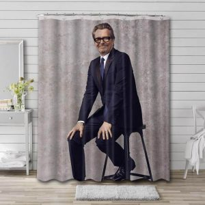 Gary Oldman Actor Shower Curtain Waterproof Polyester Fabric