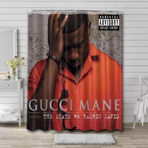 Gucci Mane The State Shower Curtain Waterproof Polyester Fabric