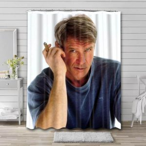 Harrison Ford Young Shower Curtain Bathroom Decoration