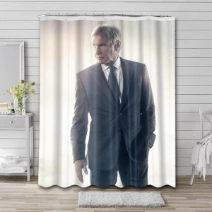 Harrison Ford Shower Curtain Waterproof Polyester Fabric
