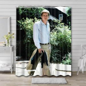 Harrison Ford Young Waterproof Shower Curtain Bathroom Decor