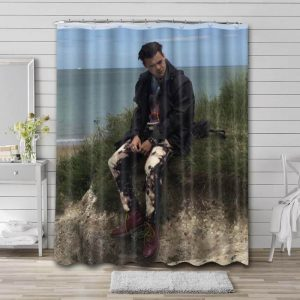 Harry Styles Photo Shower Curtain Waterproof Polyester Fabric