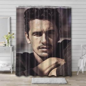 James Franco Movies Shower Curtain Waterproof Polyester Fabric