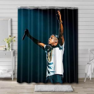 Jay Z Shower Curtain Waterproof Polyester Fabric