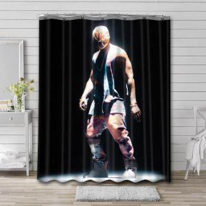 Kanye West Live Shower Curtain Waterproof Polyester Fabric