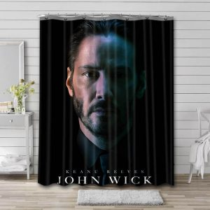Actors Shower Curtain Bathroom Decoration Waterproof Polyester Fabric.