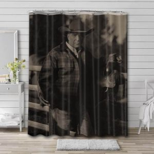 Kevin Costner Movies Shower Curtain Waterproof Polyester Fabric
