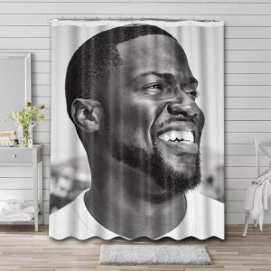 Kevin Hart Movies Shower Curtain Waterproof Polyester Fabric