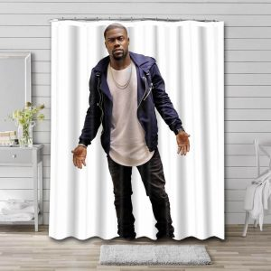 Kevin Hart Movies Bathroom Shower Curtain Waterproof Polyester