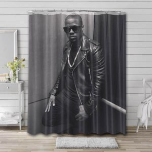 Kevin Hart Shower Curtain Bathroom Decoration Waterproof Polyester Fabric.